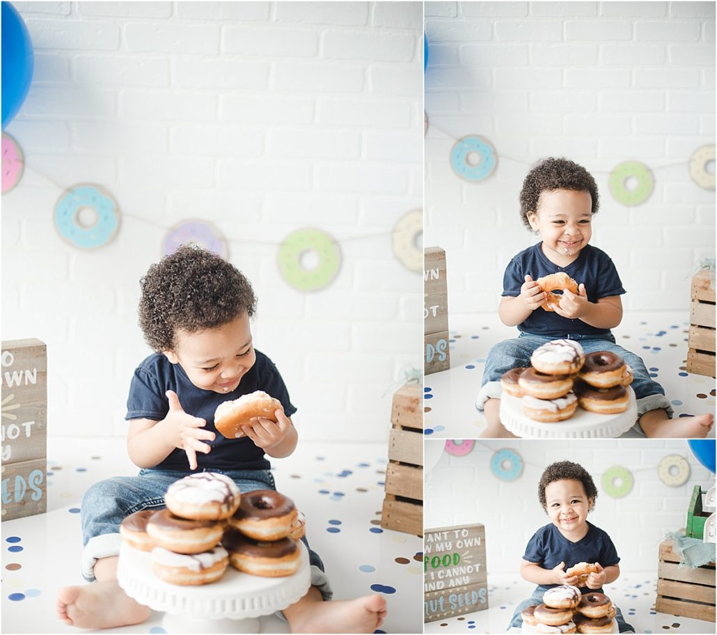birthday-cake-donut-smash-happy-birthday-Musa-Natural-Photography-lifestyle-Newborn-family-buford-johns-creek-alpharetta-lawrenceville-suwanee-gainesville-norcross-duluth-roswell-cumming-lithonia-in-home